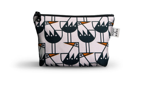 OYSTERCATCHER MEDIUM COSMETIC BAG