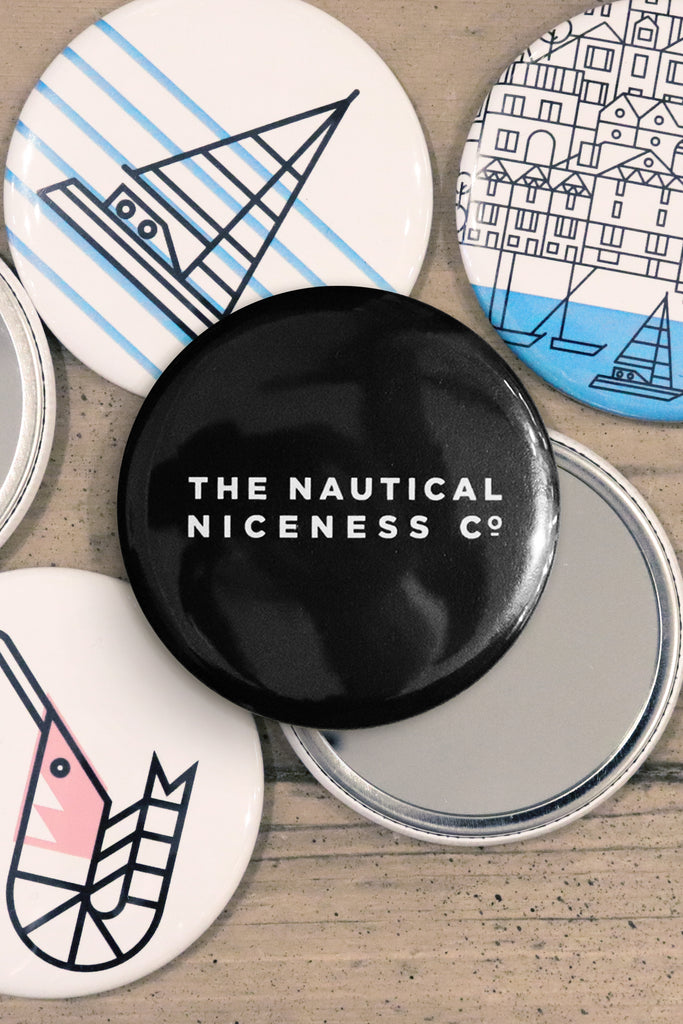 NAUTICAL NICENESS POCKET MIRROR