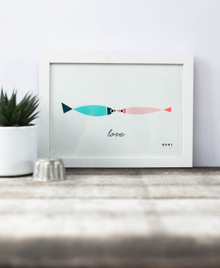 BERT & BUOY WALL ART | FISHY LOVE