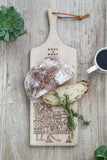 COASTAL CHOPPING BOARD