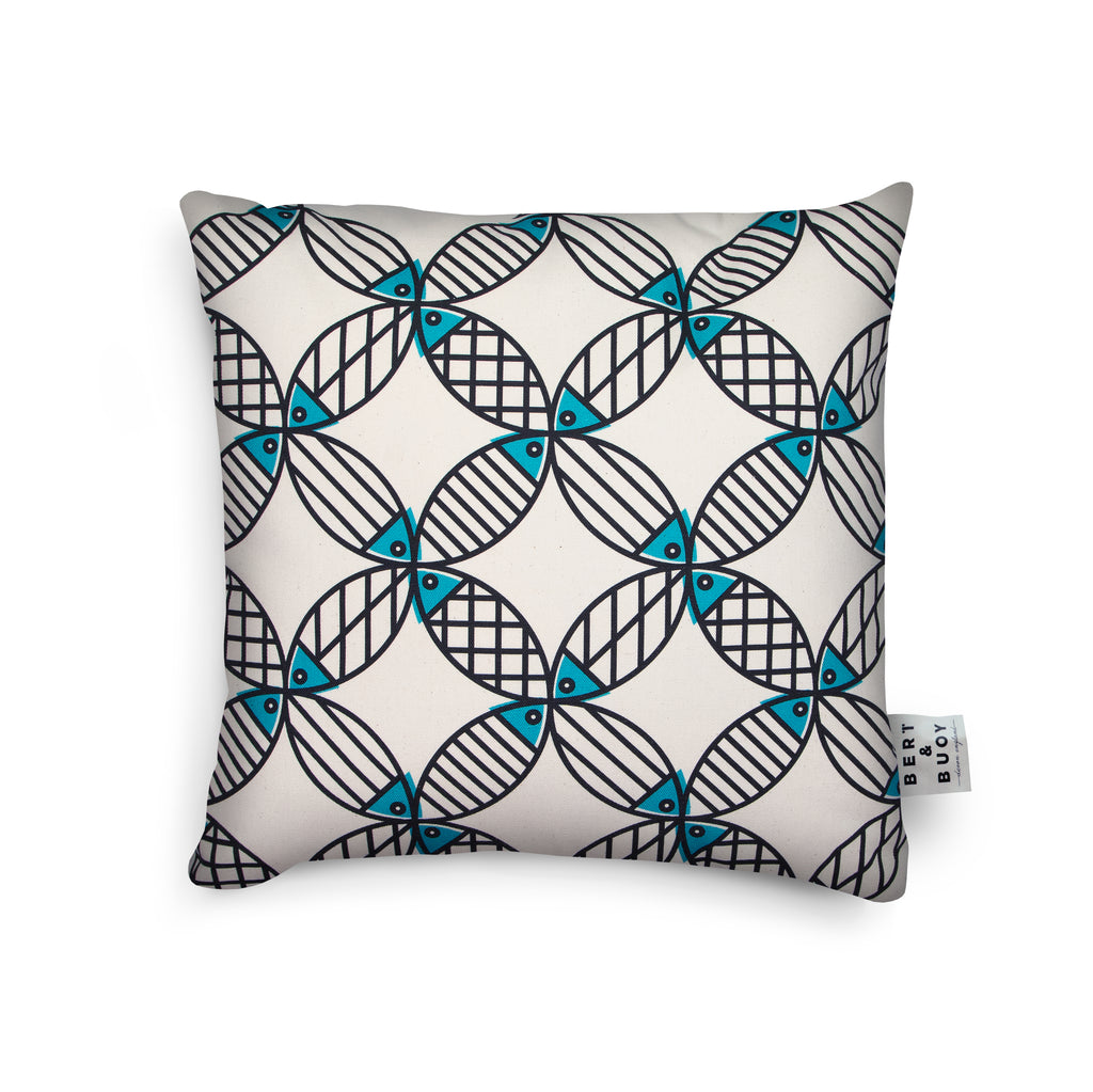 MIGHTY MACKEREL COASTAL CUSHIONS