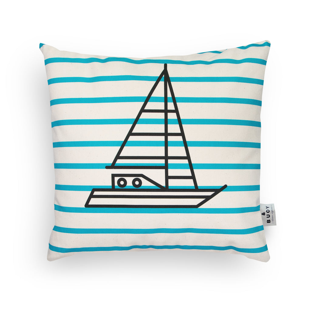 BERT & BUOY CUSHION SHIP AHOY