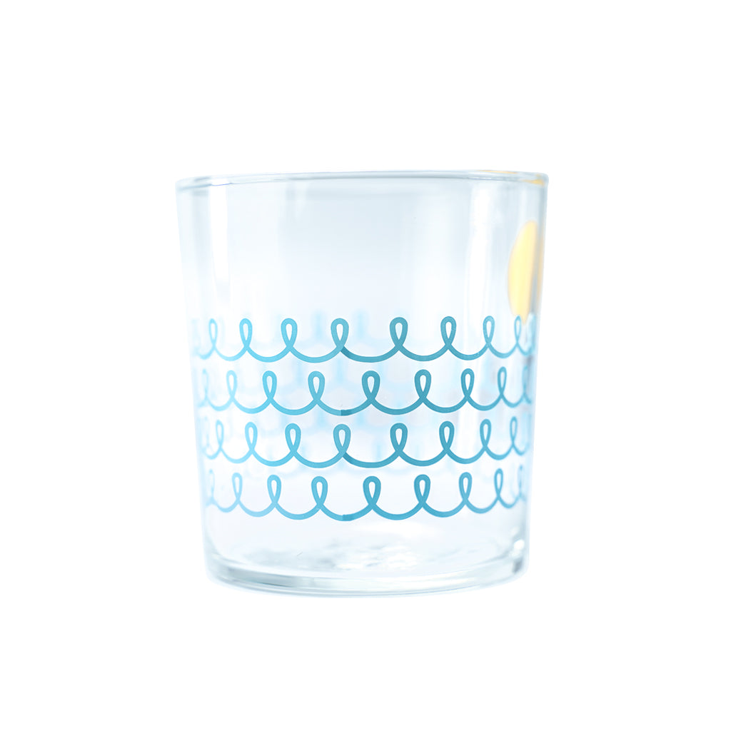 BERT & BUOY GLASS SEA STRIPE SUN
