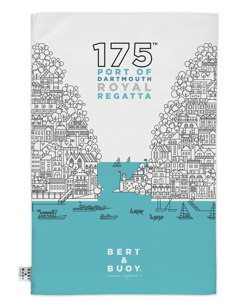 175th REGATTA TEA TOWEL