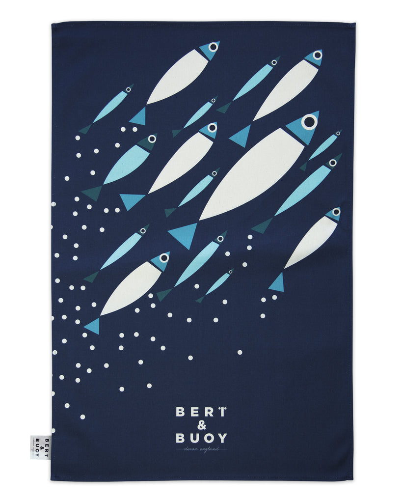 SHOAL LARGE TEA TOWEL