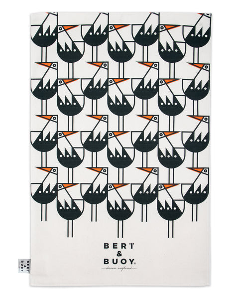 OYSTERCATCHER LARGE TEA TOWEL