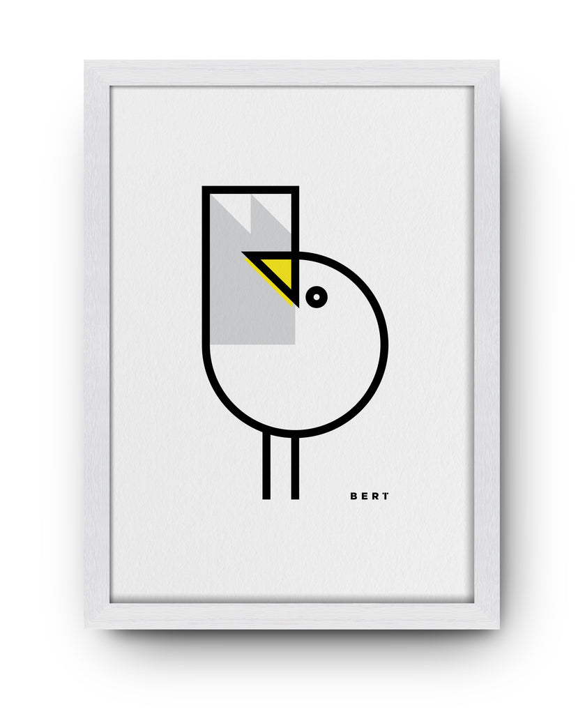 BERT & BUOY WALL ART | GULL