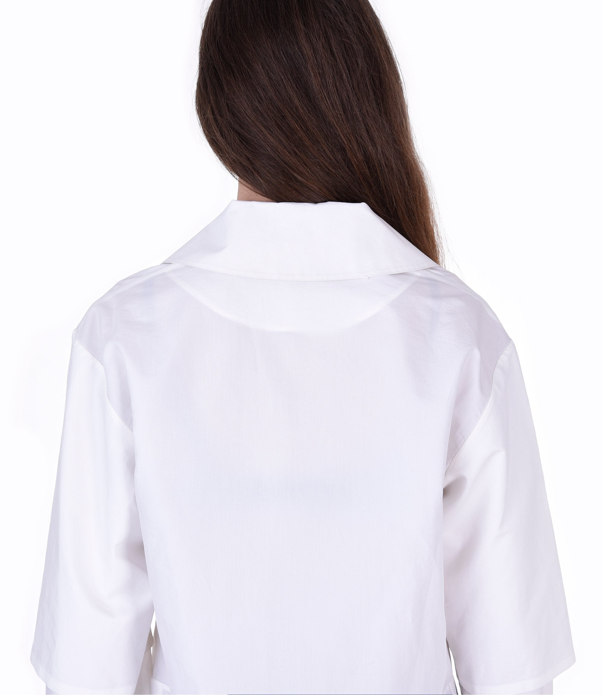 Long white shirt