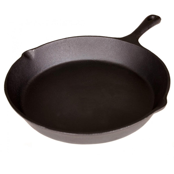 Cajun Classic Seasoned Cast Iron Skillet - 12 Inch