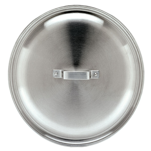 "21.5"" 15 Gallon Aluminum Jambalaya or Stock Pot Lid"
