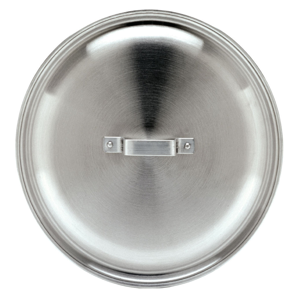 "19.125"" 10 Gallon Aluminum Jambalaya or Stock Pot Lid"