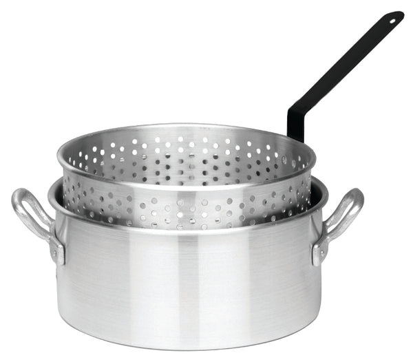 Bayou Classic 10 Quart Aluminum Deep Fryer Pot (No Lid)