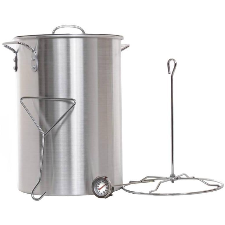 Cajun Classic 28 Quart Turkey Fryer Pot