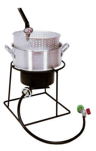 Short Aluminum Outdoor Fish Fryer Kit