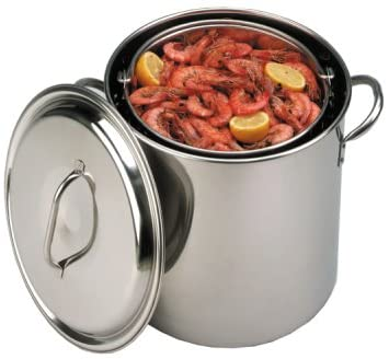 22 qt Stainless Steel Boiling Pot