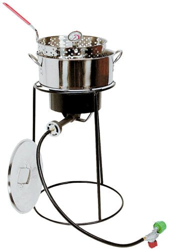 King Kooker Stainless Steel Fish Fryer Outdoor Cooking Kit