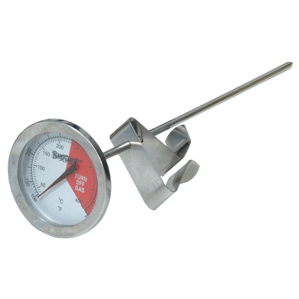 Bayou Classic 5 Inch Stainless Steel Thermometer