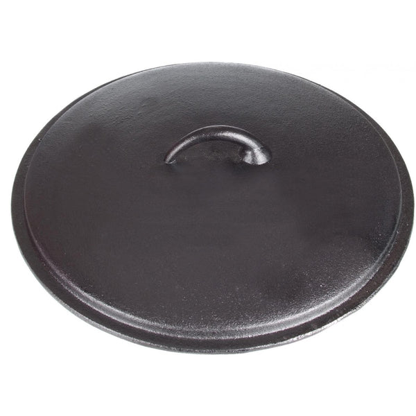 Seasoned Cast Iron Lid - 15 Inch