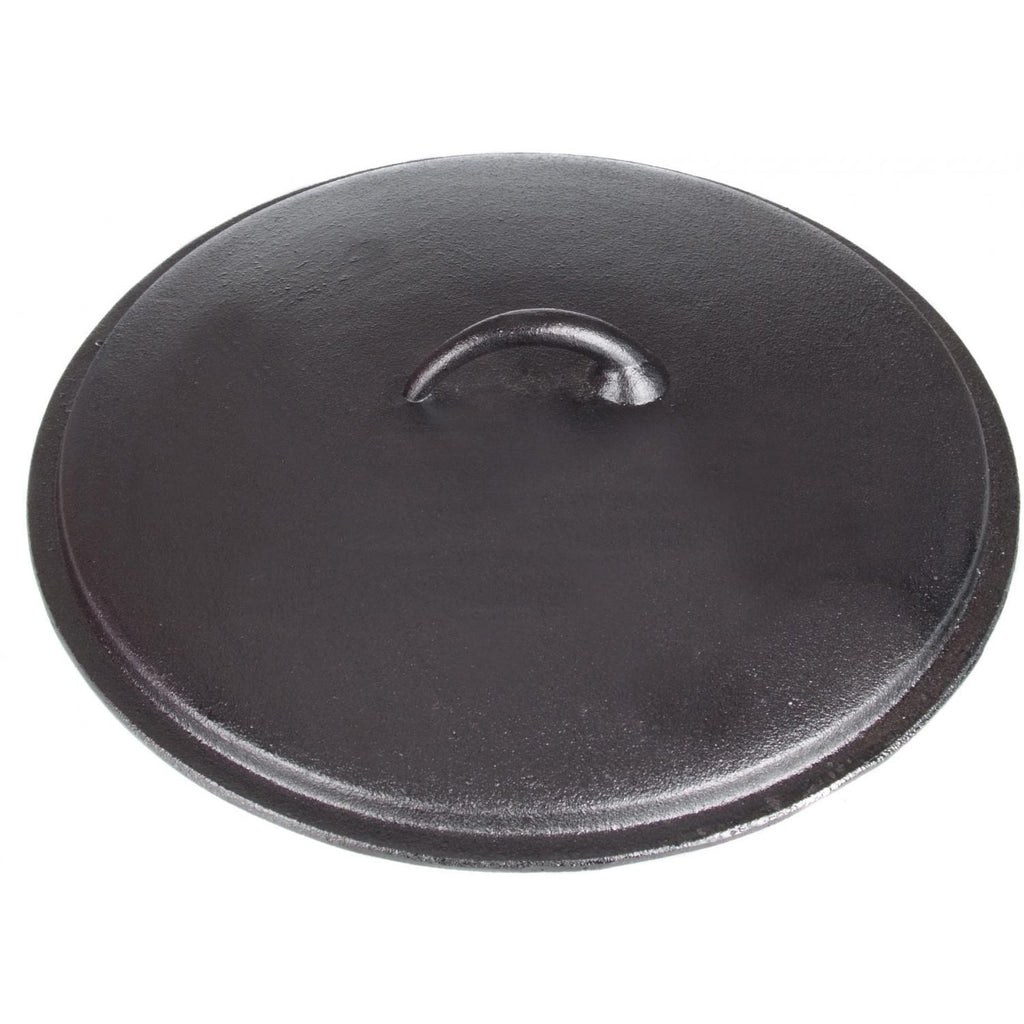 Seasoned Cast Iron Lid - 12 Inch