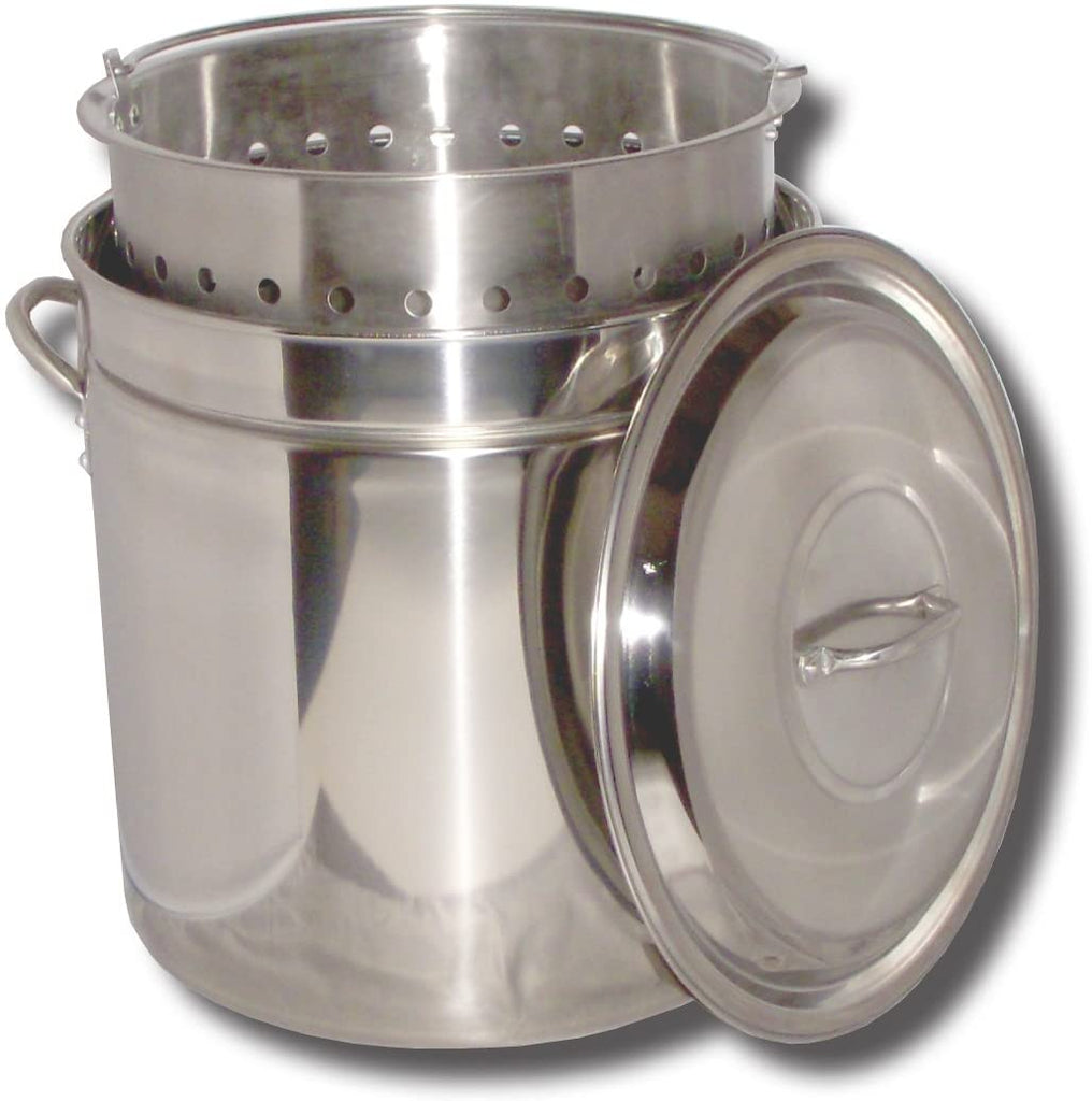 102 qt Stainless Steel Steamer Stock Pot