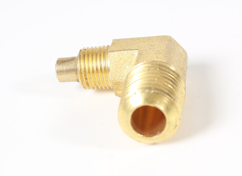 90 Degree 1/8 Inch Burner Brass Fitting