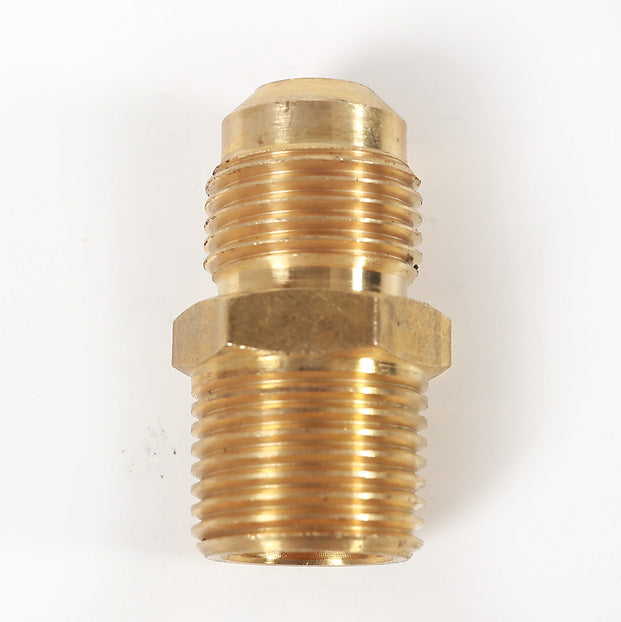 Hose to LP Regulator Male / Male Brass Fitting