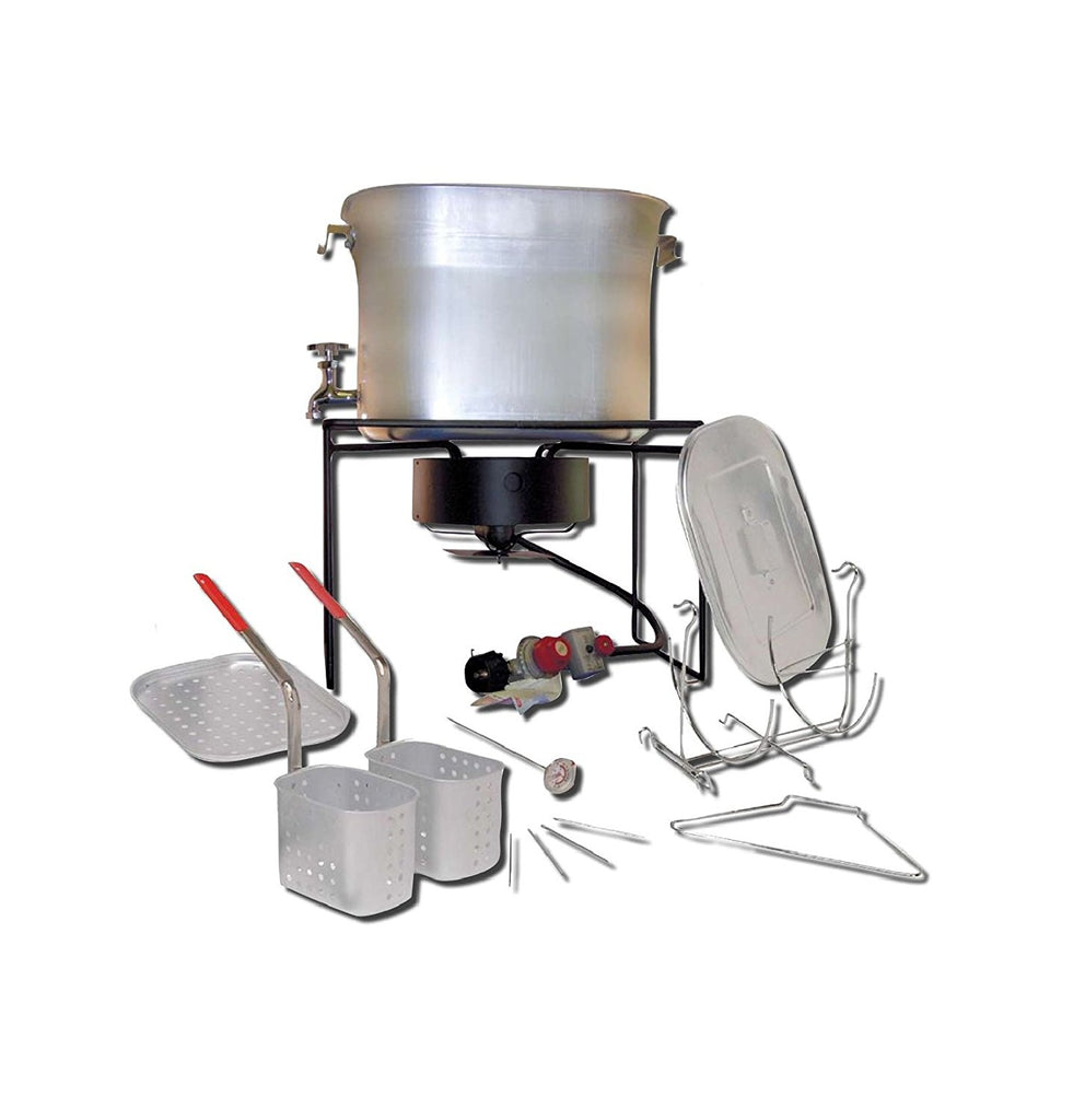King Kooker Hot Tub Double Fryer Kit