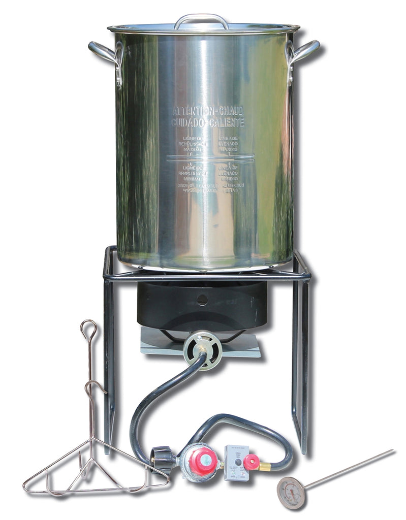 Stainless Steel Turkey Fryer Kit