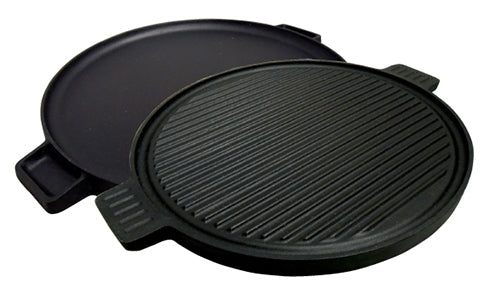 Cast Iron Reversible Round Griddle