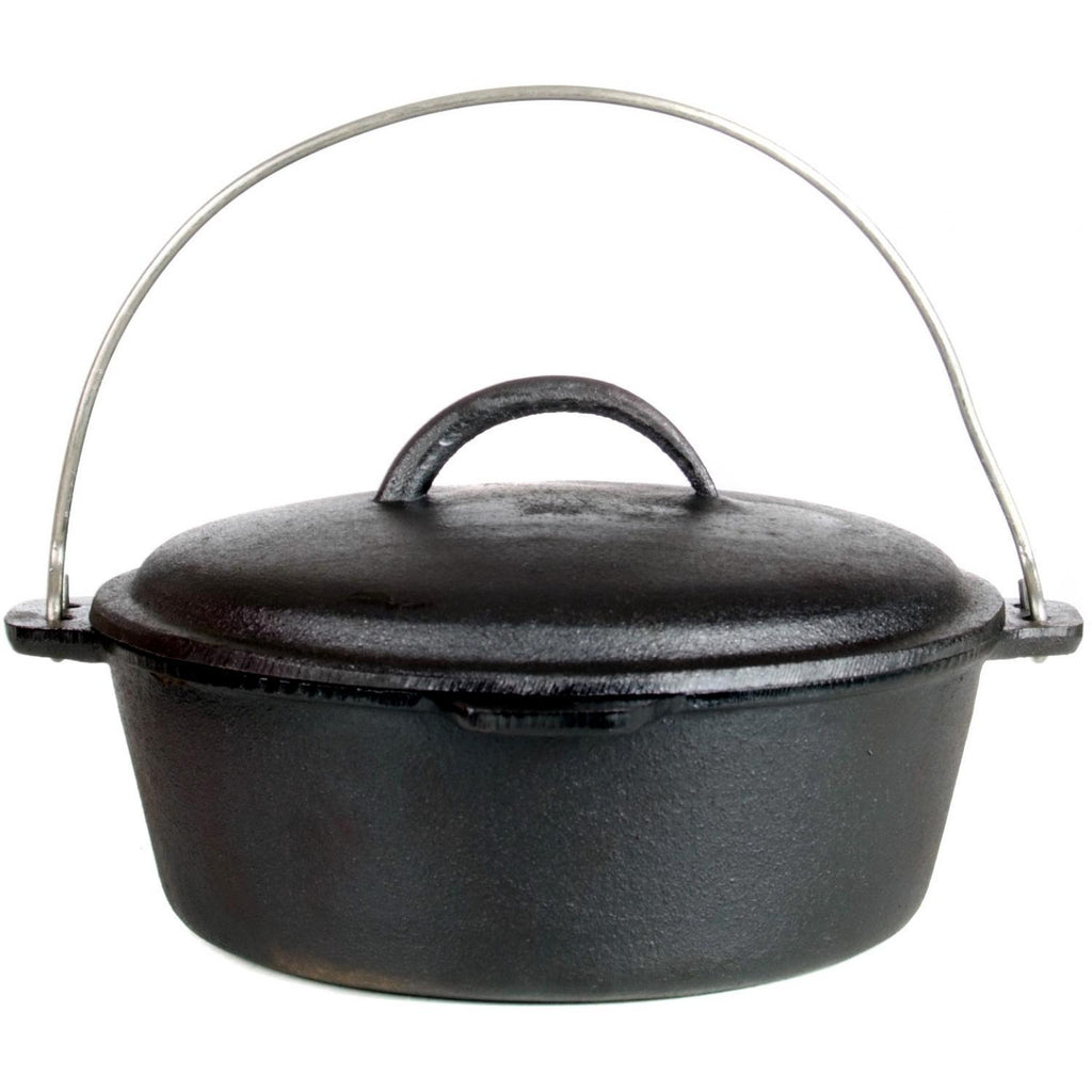 Cajun Classic Seasoned Cast Iron Dutch Oven Pot - 2 Quart