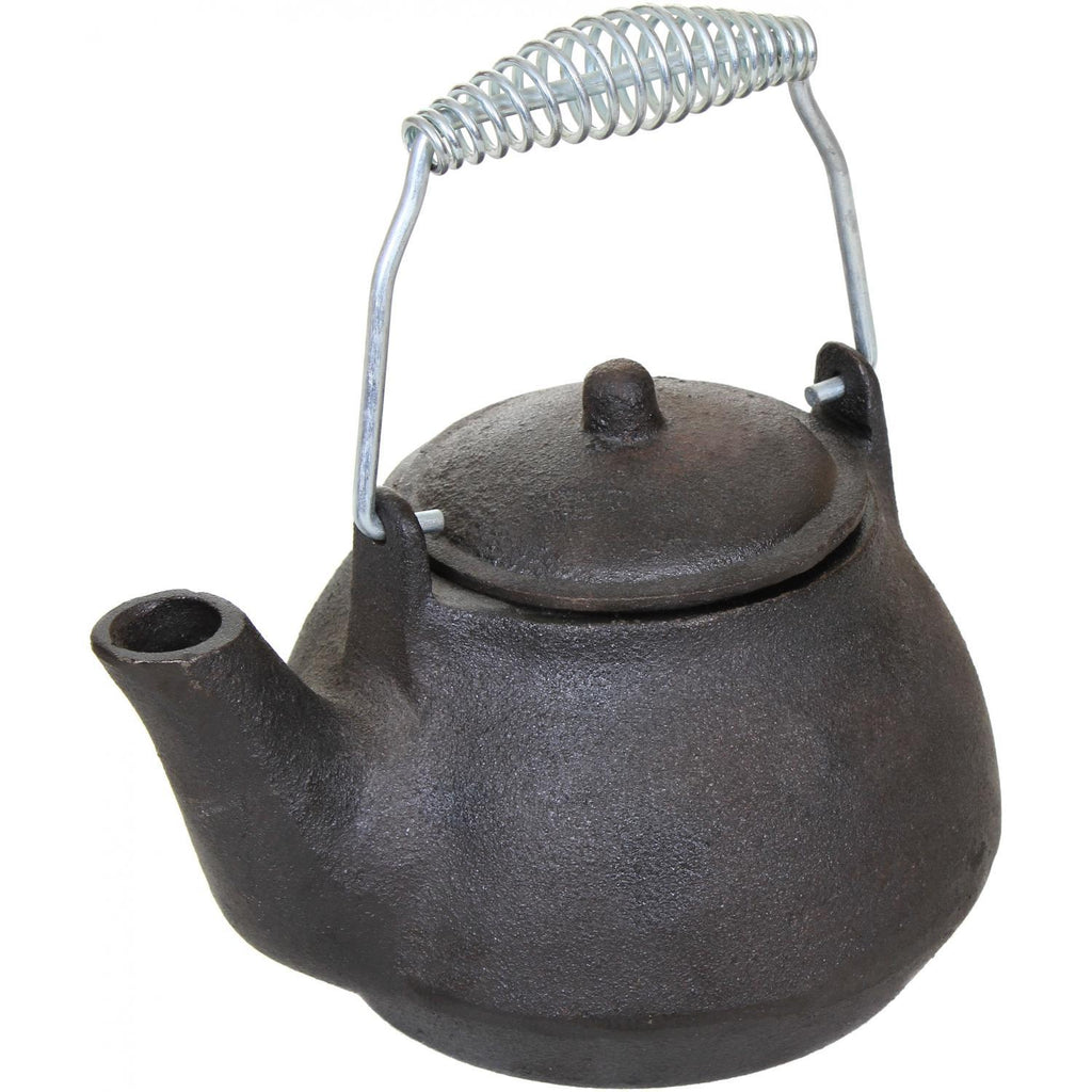 Cajun Classic Seasoned Cast Iron Teapot