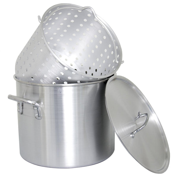 Cajun Classic Aluminum Stock Pot Kit 24 Quart