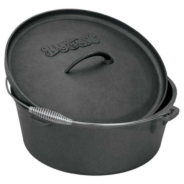 Bayou Classic 2 Quart Cast Iron Dutch Oven