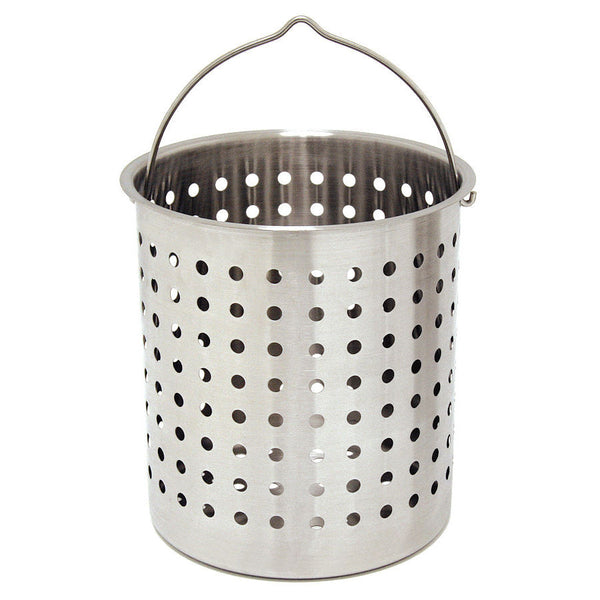 Bayou Classic 44 Stainless Steel Stock Pot Basket