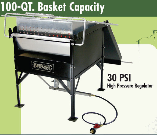 Bayou Classic 100 Quart Double Jet Seafood Boiler