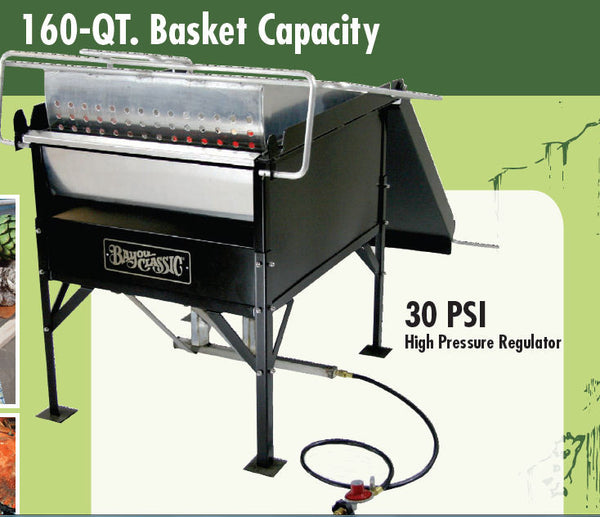 Bayou Classic 160 Quart Double Jet Seafood Boiler