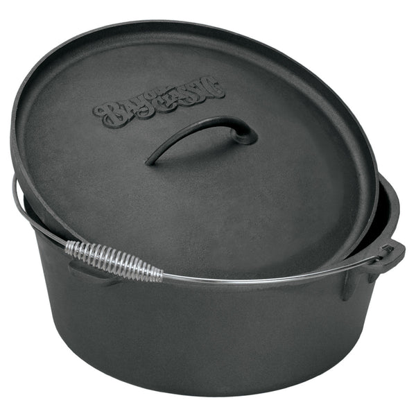 Bayou Classic 4 Quart Cast Iron Dutch Oven