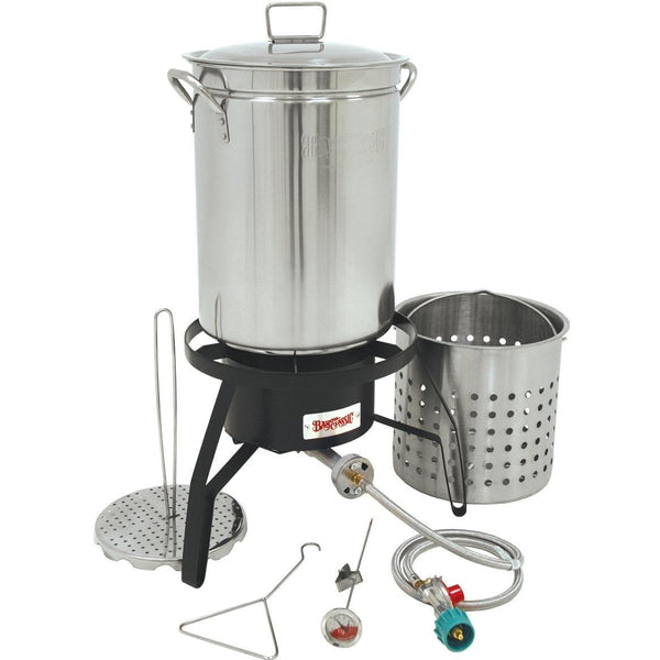 Bayou Classic High Heat Stainless Steel Turkey Fryer Kit