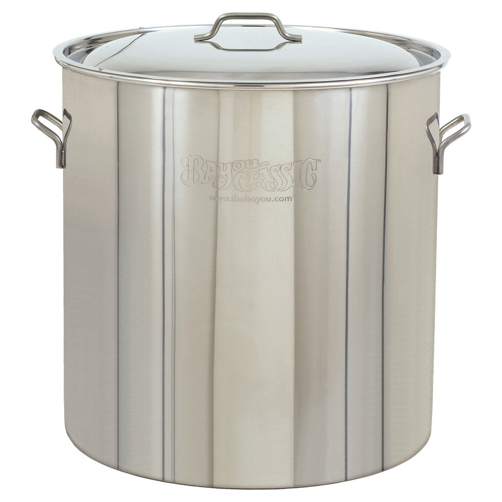 Bayou Classic 122 Qt Stainless Steel Pot & Lid