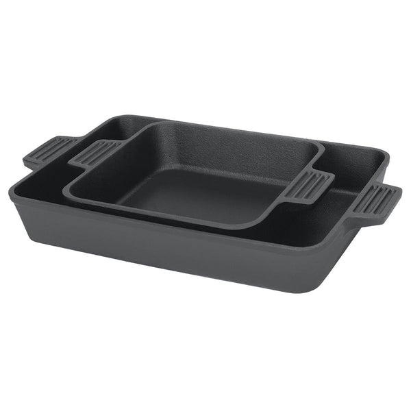Bayou Classic Cast Iron Baking Pan Set