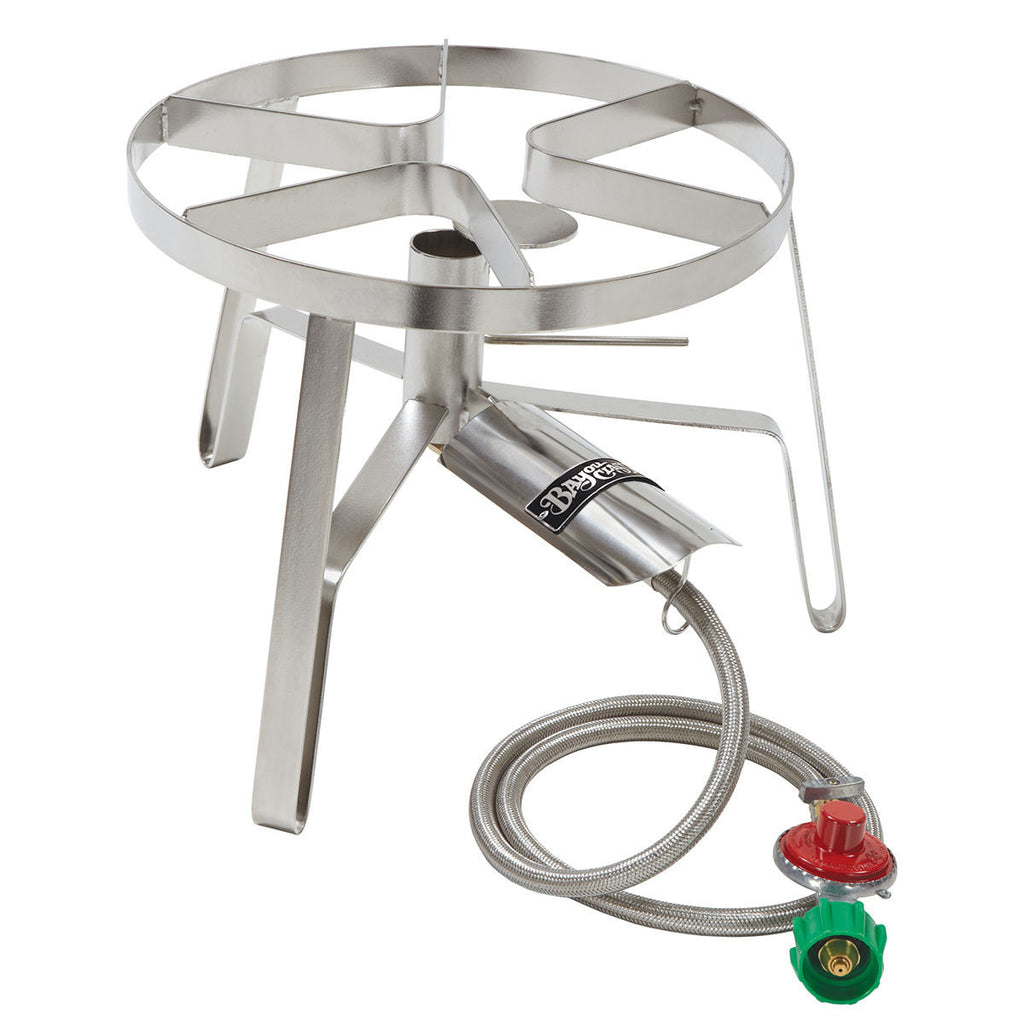 Bayou Classic High Pressure Stainless Steel Jet Burner