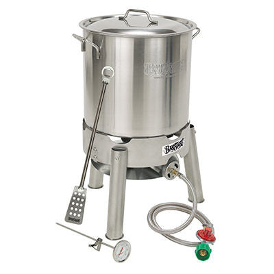 Bayou Classic Home Brewing Starter Kit with Burner