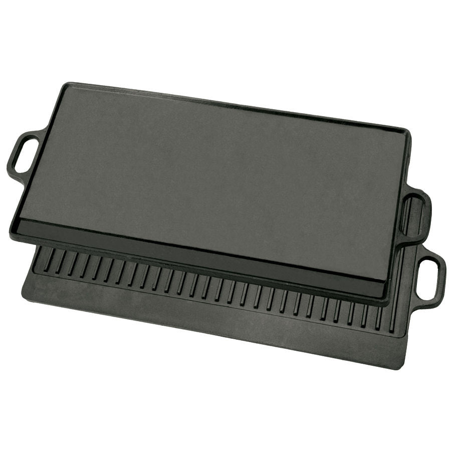 Bayou Classic Cast Iron Large Reversible Griddle