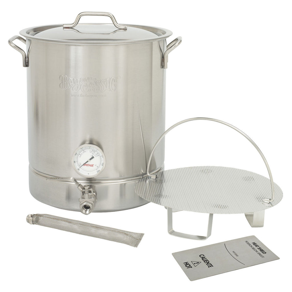 Bayou Classic Premium Brew Pot Kit - 8 Gallon