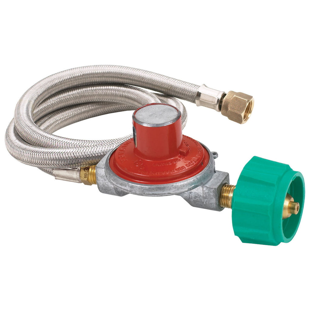 Bayou Classic Stainless Steel 10 PSI Propane Regulator Kit