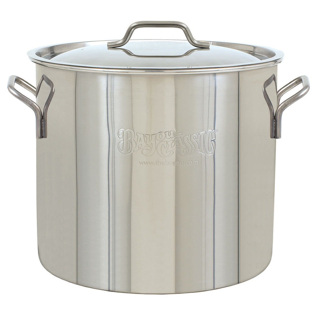 Bayou Classic 30 Quart Stainless Steel Brew Pot