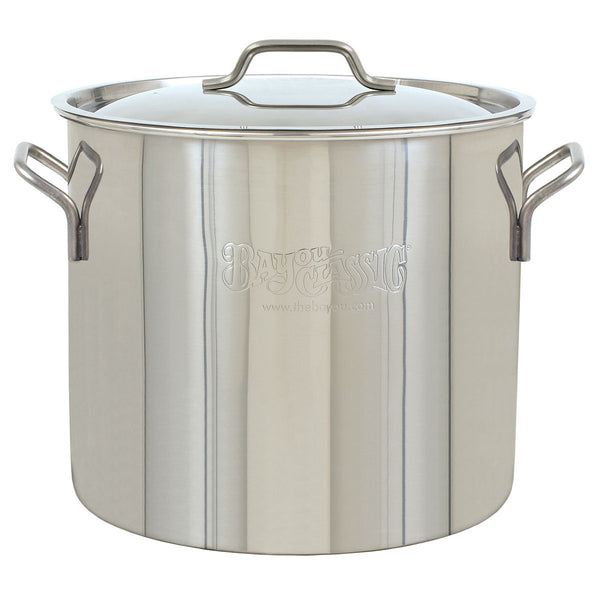 Bayou Classic 20 Quart Stainless Steel Brew Pot