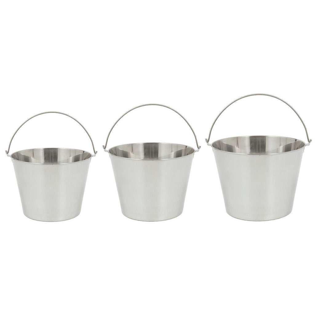 Bayou Classic Stainless Steel Bucket Set