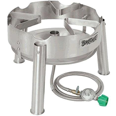 Bayou Classic Stainless Steel Jet Propane Burner