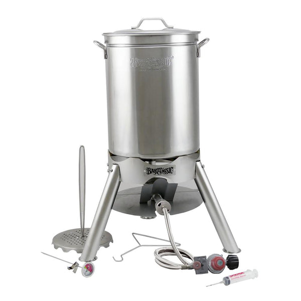 44 Qt Grand Gobbler Stainless Steel Turkey Fryer Kit